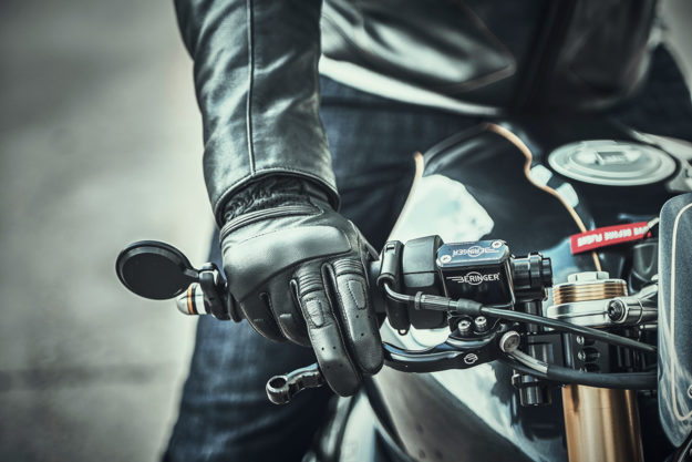 Premium motorcycle gloves by Pagnol