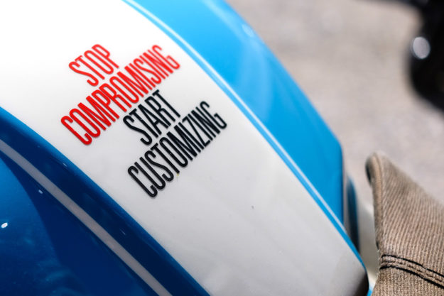 Stop compromising, start customizing