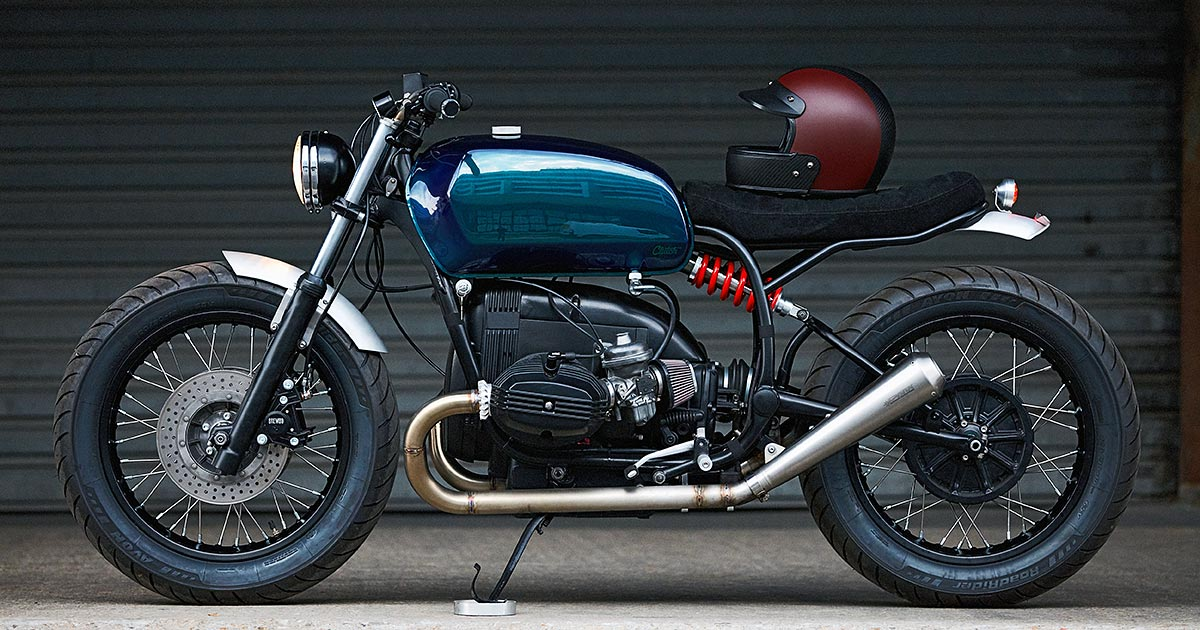 On The Right Track: A sublime BMW R100 from Clutch