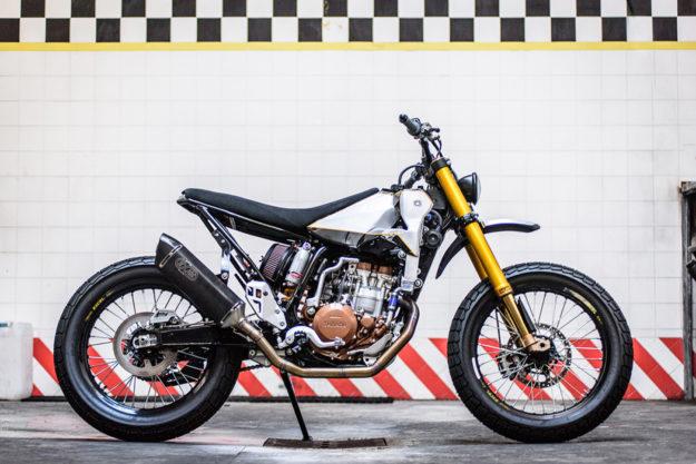 Yamaha WR400 by Meccanica Serrao d'Aquino