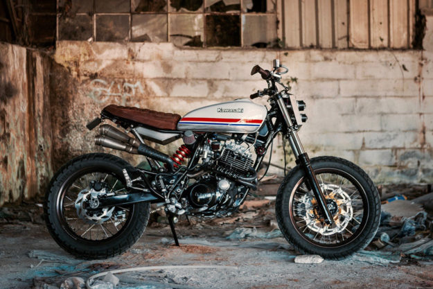 Yamaha XT 600 by North Wheels Motorcycle Club