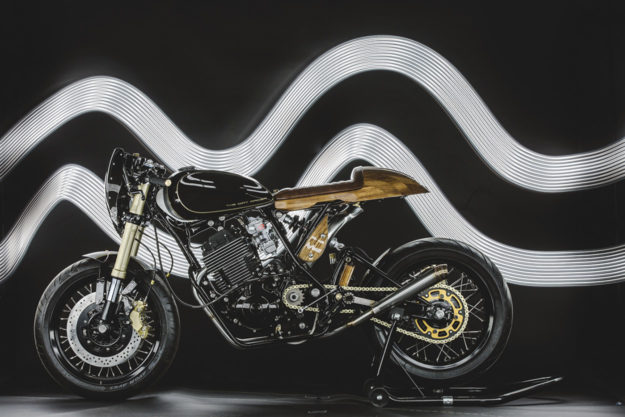 Custom Yamaha XT600 by Lions Den Motorcycles