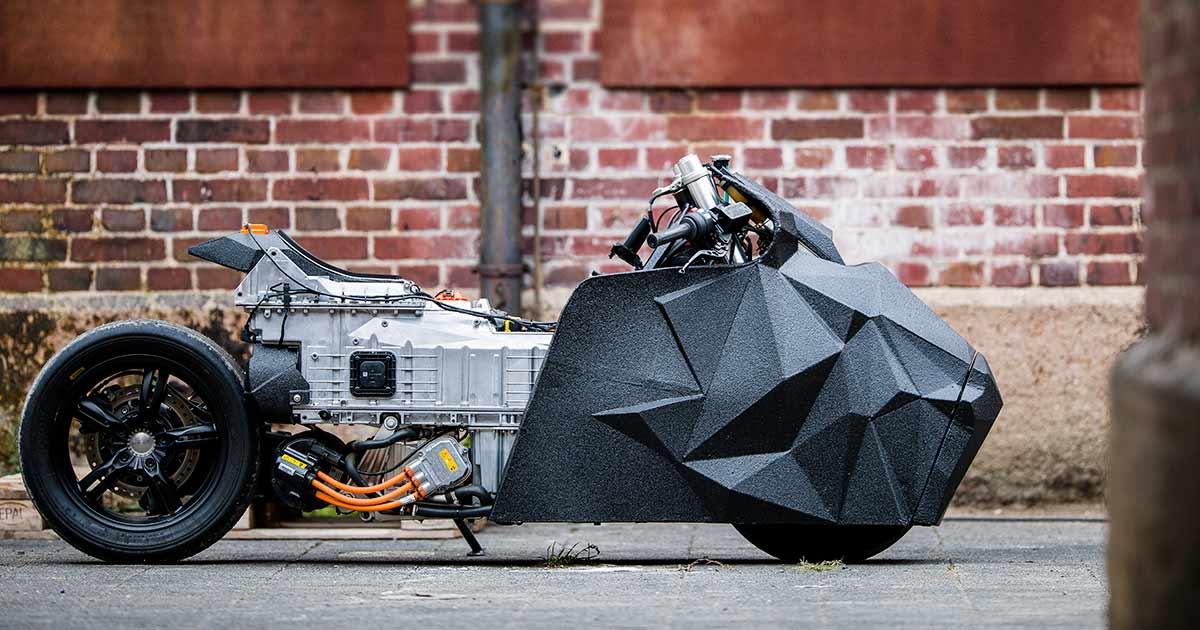 Exclusive: BMW Motorrad x Krautmotors C evolution