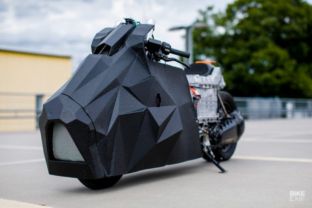 Custom BMW C evolution by Krautmotors