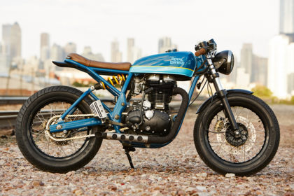 Grand Trunk Express: Federal Moto's Royal Enfield Continental GT