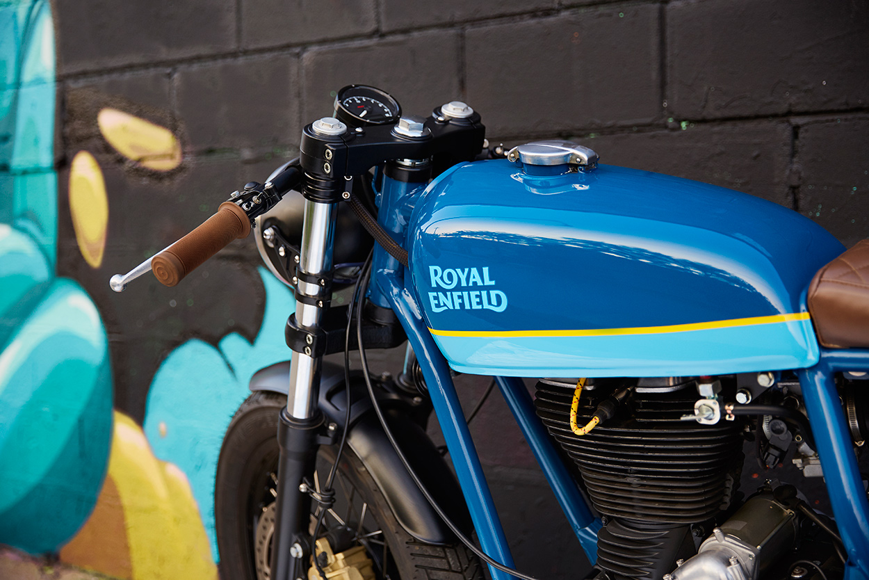 Federal Moto Spice up the Royal Enfield Continental GT | Bike EXIF