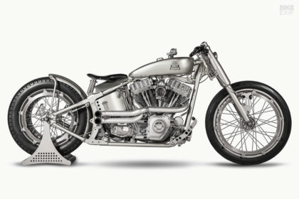 Iron Riot: Harley-Davidson Softail custom by One Way Machine