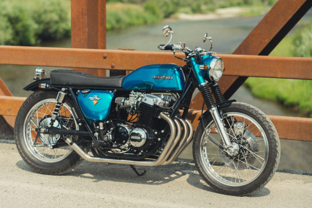 Sweet Jane: A Honda CB750 restomod from Rawhide Cycles