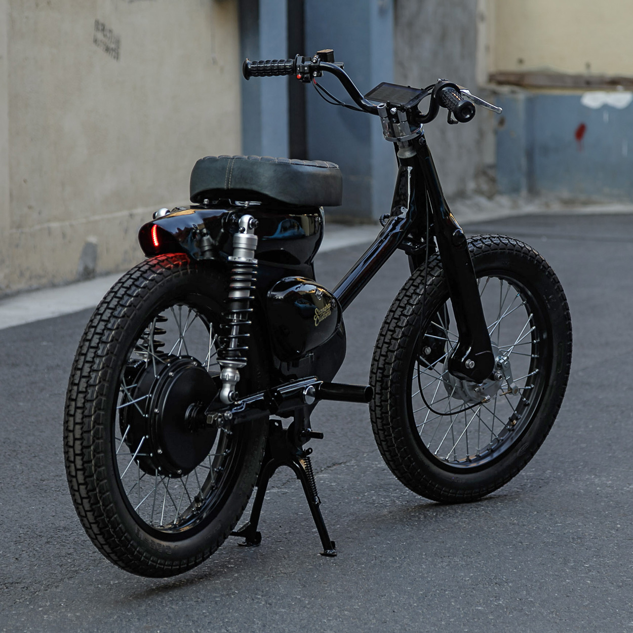 Honda Electric Motorcycle By Shanghai Customs Full Size