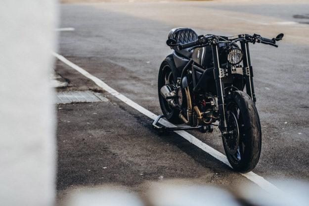 Scrambler Ducati Icon cafe racer by Rough Crafts