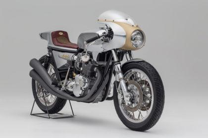 Triumph Trident cafe racer by Storik