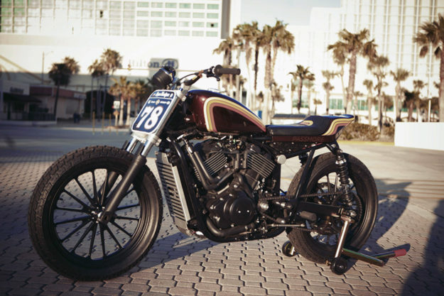 Harley Street tracker by Standard Motorcycle Co.