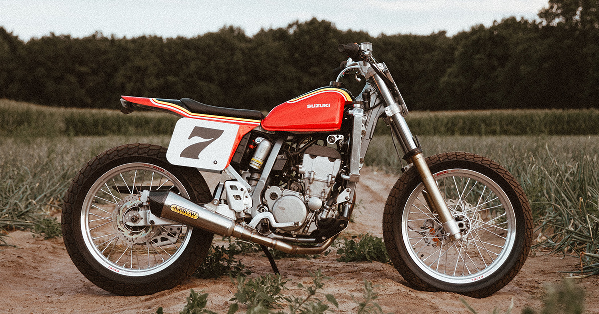 This is the DR-Z400 Variant that Suzuki Should Make