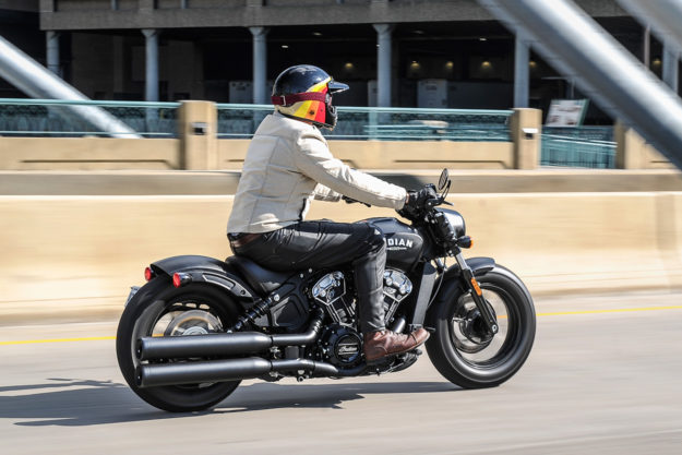 Review: Vaktare Bomber wool motorcycle jacket
