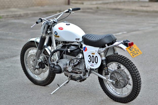 BMW R100 vintage scrambler by Dust Custom Motorcycles