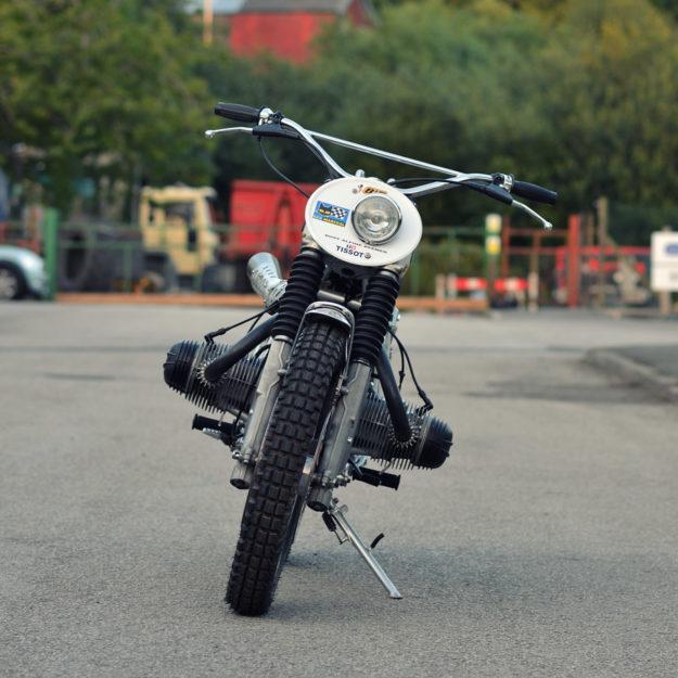 BMW R100 vintage scrambler by Dust Custom Motorcycles