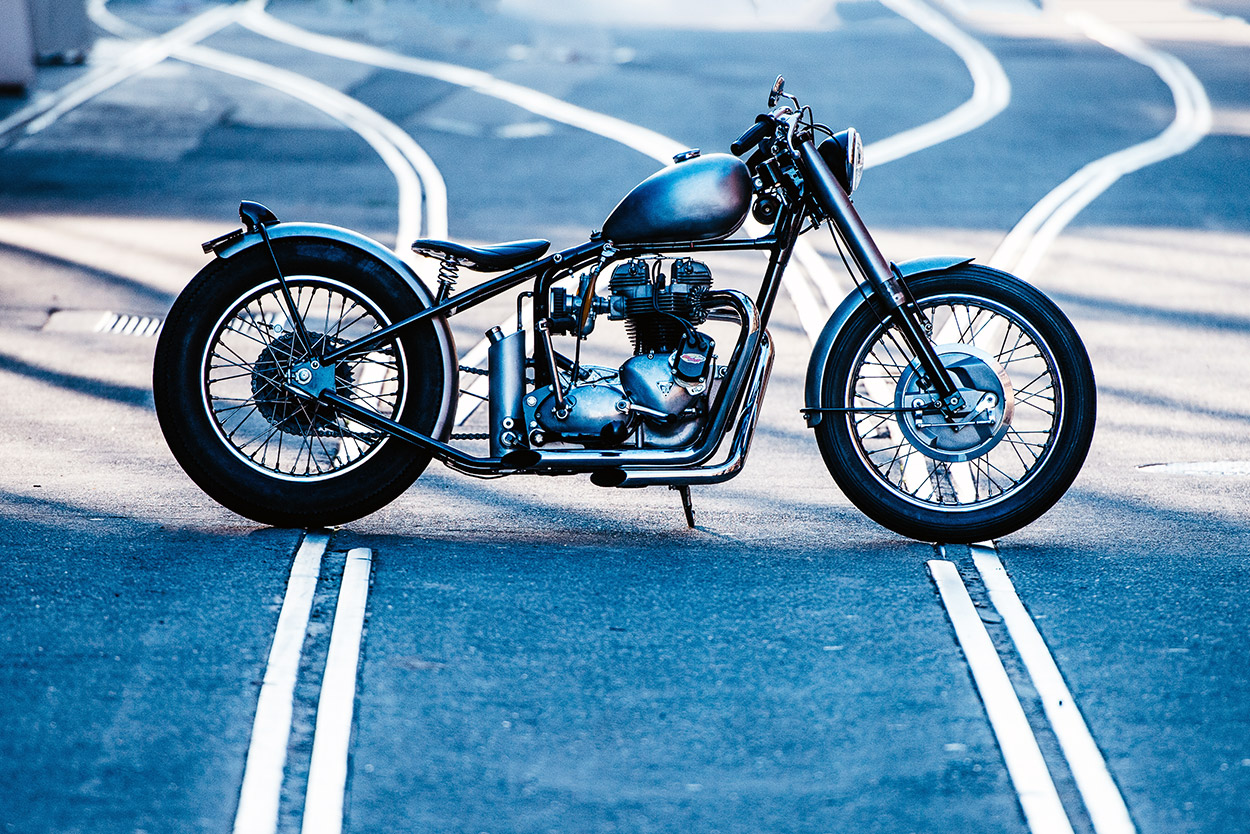 1969 Triumph bobber by Deus Customs