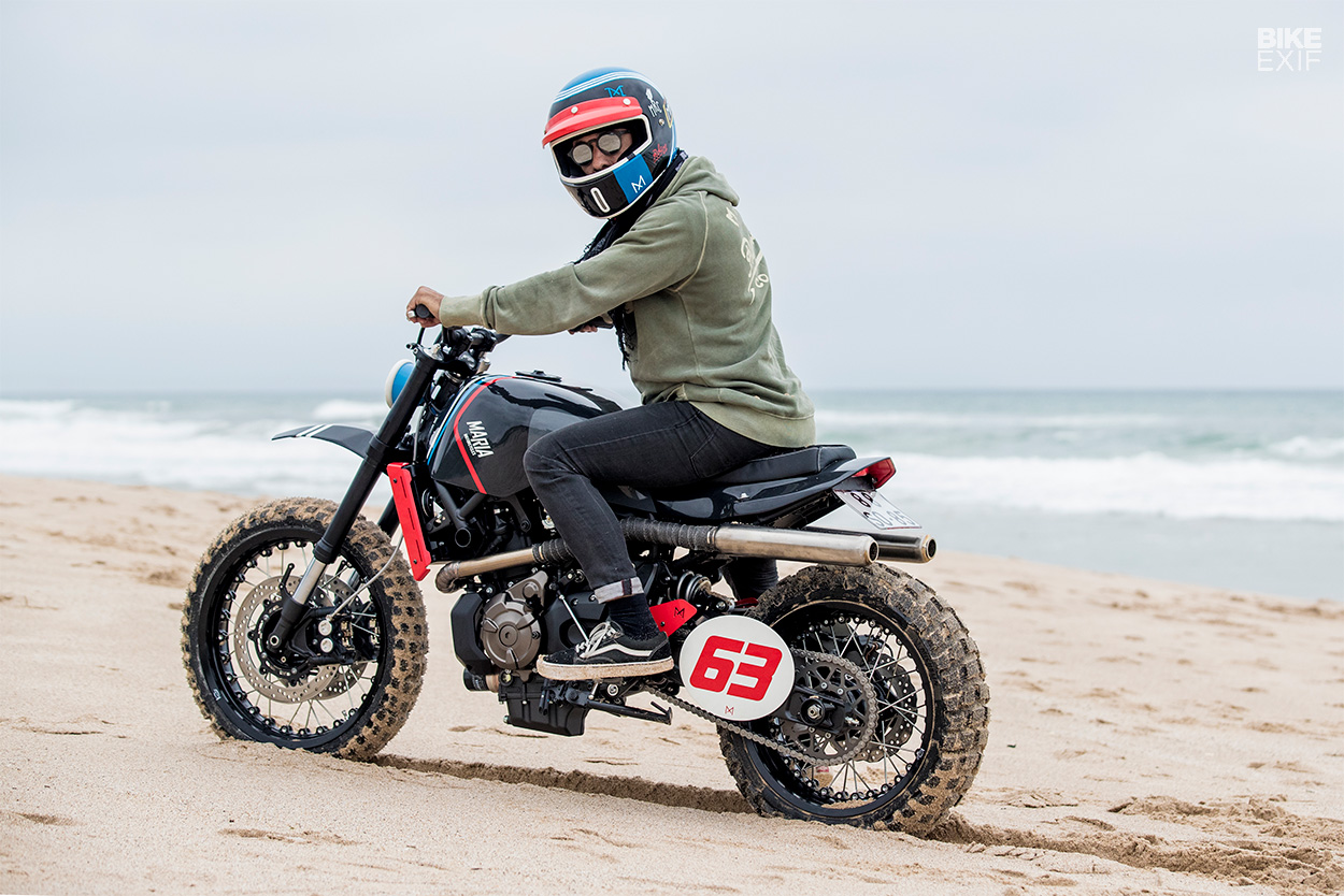 Moto yamaha scrambler cars motorcycles bobber forward mt09 yamaha - The Seed Was Planted Just Over A Year Ago At The Art Moto Event In Portugal Maria Motorcycles Ran Into Yamaha S Marketing Director And Asked Him If