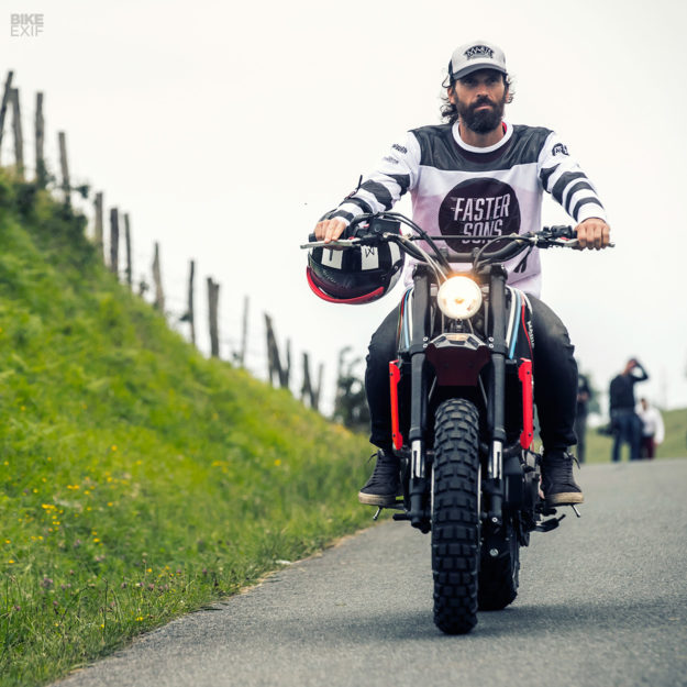 Yamaha XSR700 scrambler by Maria Motorcycles of Portugal