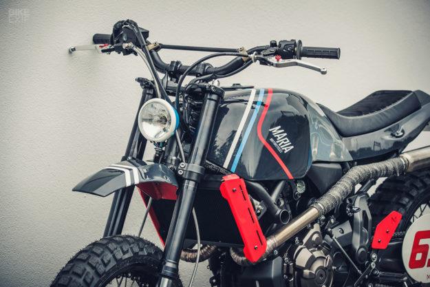 Yamaha XSR700 scrambler by Maria Motorcycles of Portugal