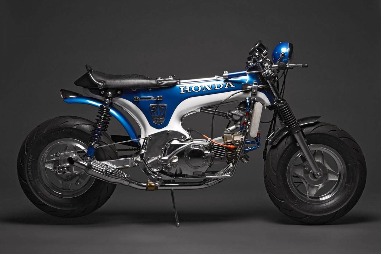 Custom Bikes Of The Week 3 September 2017 Bike Exif 1970 Honda Ct70 Blue By Davmomoto Weve Always Got Time For A Mini Whether Its New Grom Or An Older Machine Like This From 1970s