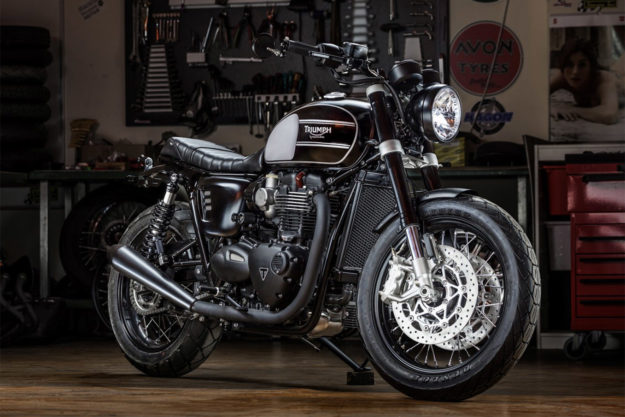 2016 Triumph T120 Bonneville custom by Macco Motors