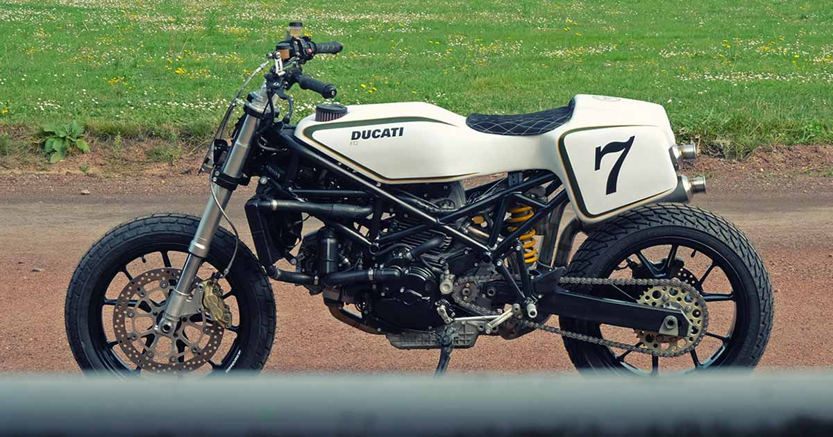Sports Tourer to Street Tracker: Deep Creek's Ducati ST2