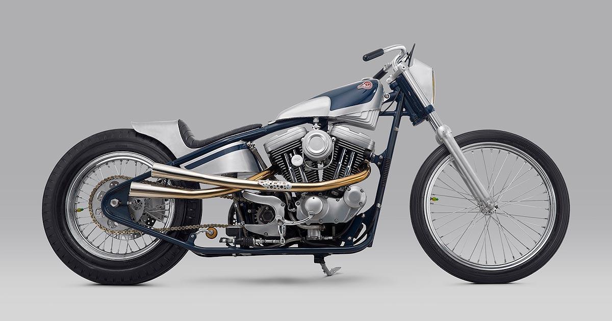 Kuzuri: A Harley XL1200 Sportster custom from Thrive