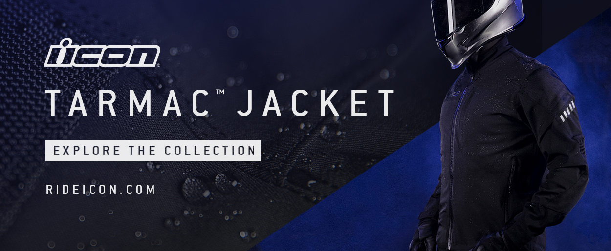 ICON Tarmac Premium Waterproof Riding Jacket
