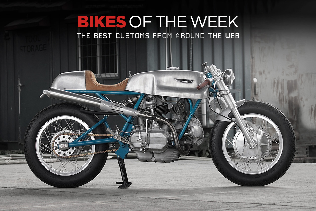 Custom Bikes Of The Week 3 September 2017 Bike Exif Old Honda Mini An Incredible Ducati 750 Imola Replica From Indonesia A Hot Rodded Ct70 Usa Bonnie Spain And Yamaha Xv950r Germany