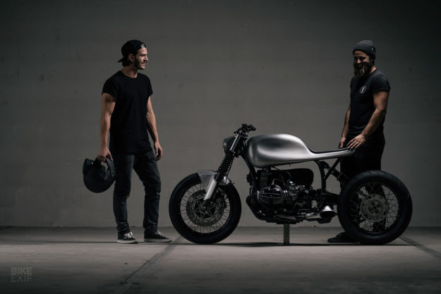 Smooth Operator: Vagabund's sleek BMW R100R cafe racer