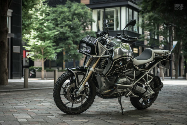 New from Cherry's Company of Japan: Not your usual BMW R1200GS modifications