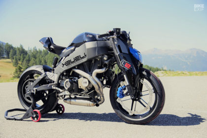 Using CAD to customize a motorcycle: Buell XB12 by Paolo Tesi
