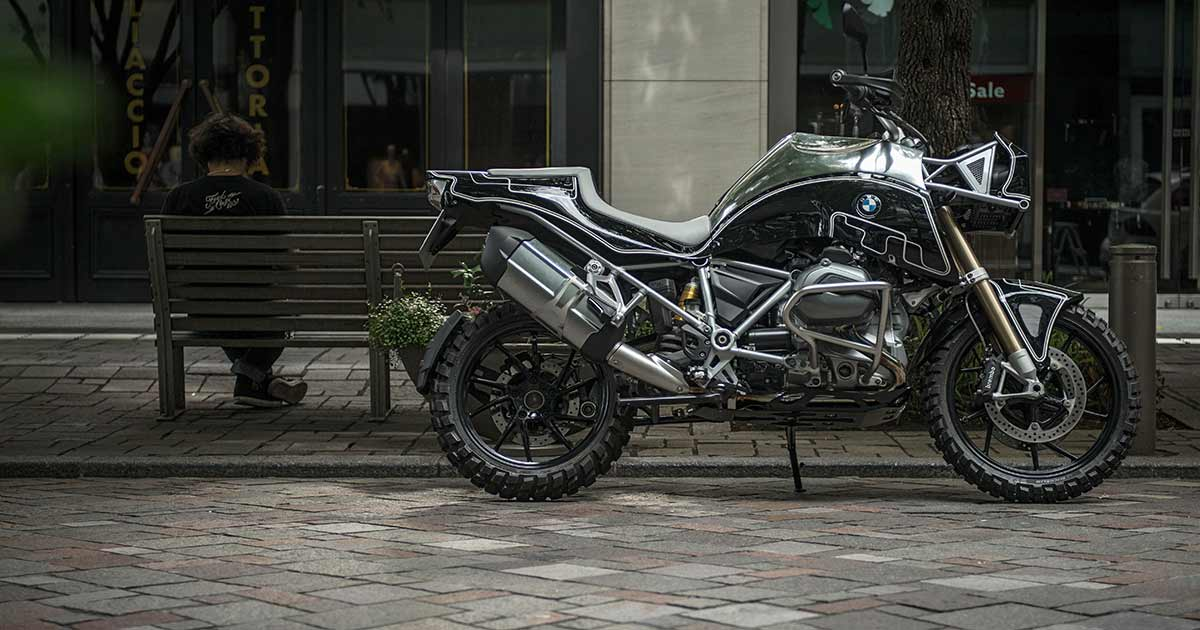 Mild To Wild: A Brutal BMW R 1200 GS from Cherry's