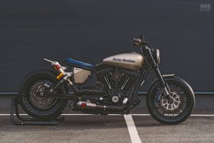 Gone In 60 Seconds: NCT's custom Harley Dyna called Eleanor