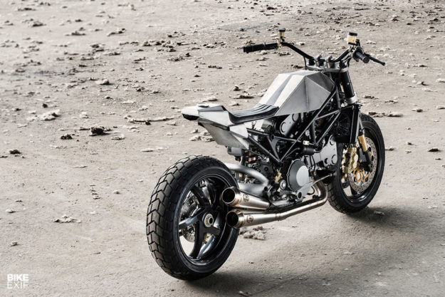 Custom Ducati Monster S4R by Anvil Motociclette