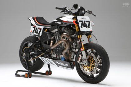 The BOTT XR1R Pikes Peak motorcycle—winner of the Exhibition Powersport class