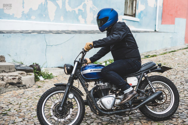 Motorcycle jeans review: Saint Stretch denim