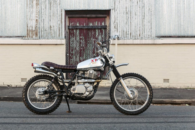 Yamaha XT500 scrambler custom by Andy Rolfe