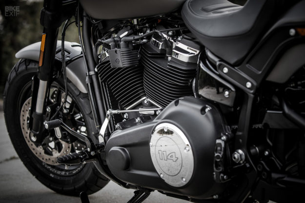 2018 Harley-Davidson Softail Fat Bob gearchange