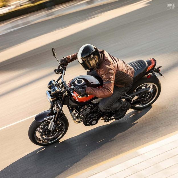 The new 2018 Kawasaki Z900RS