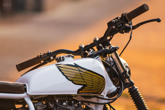 Custom Honda CB360 street tracker by Federal Moto