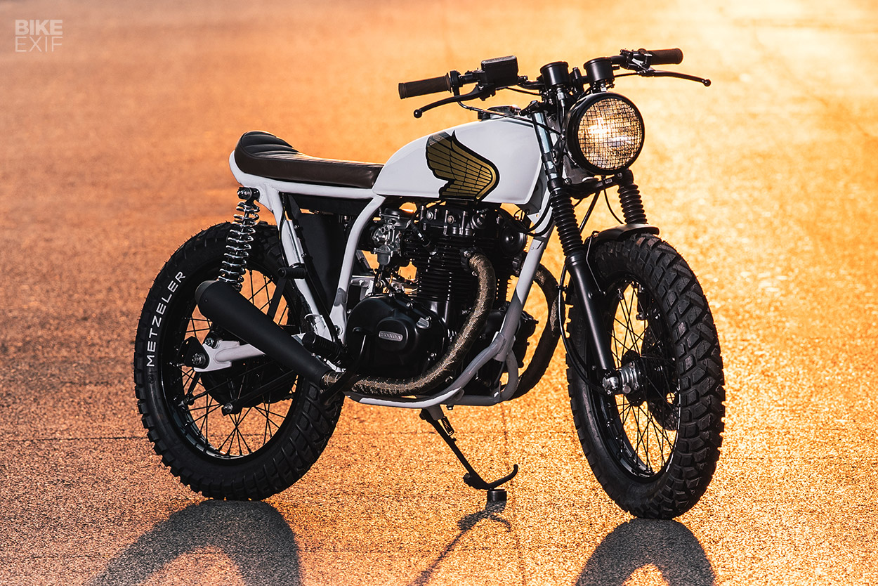 Custom Honda CB360 by Federal Moto