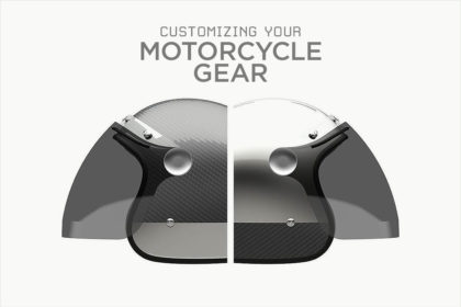 Design your own custom motorcycle gear