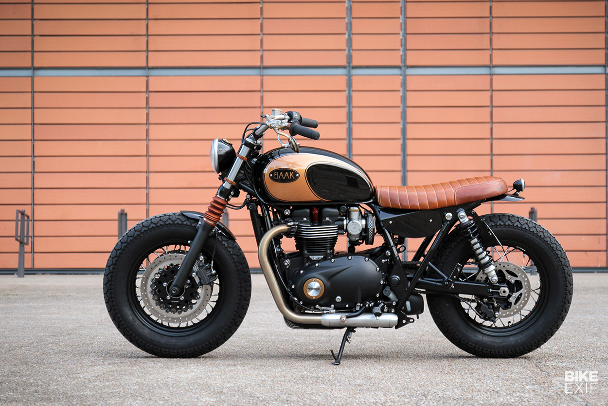 Black Art A Different Way To Build A Triumph Bobber Bike Exif