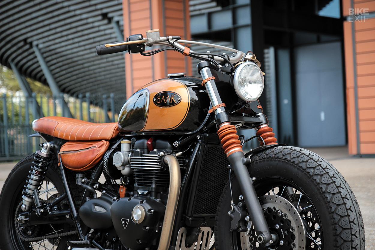 Black Art: A different way to build a Triumph Bobber | Bike EXIF