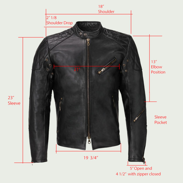 Design your own custom motorcycle jacket