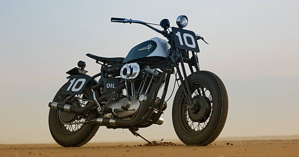 Period Incorrect: A Harley Sportster XLCH beach racer