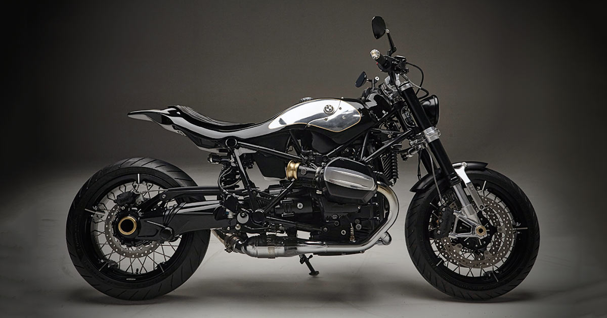 LowRide magazine puts the BMW R nineT on a diet