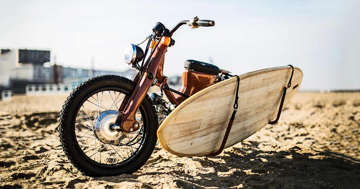 Super Surfer: Cloning the Honda Cub